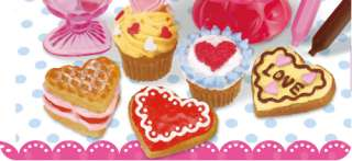 Re Ment Valentines Day Heart Sweets Cake Full Set 8pcs