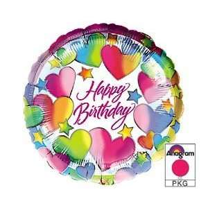Happy Birthday Sparkle Hearts & Stars Grocery & Gourmet Food