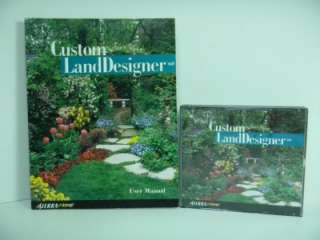 Custom Land Designer by Sierra Home DVDs and Manual