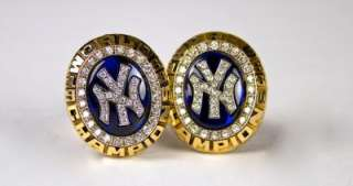 1998 NY Yankees World Series Gold Cufflinks Product Image