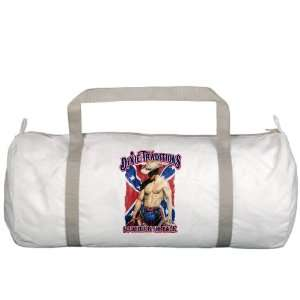 Gym Bag Dixie Traditions Southern Six Pack On Rebel Flag