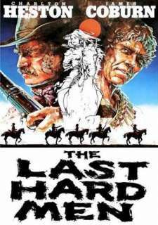 The Last Hard Men Charlton Heston, James Coburn, Barbara
