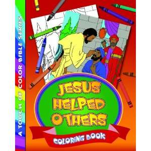 Jesus Helped Others Coloring Book (9781589424739) None Books