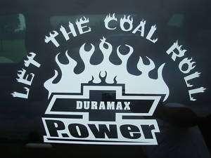 Chevrolet Chevy Duramax Diesel Decal Sticker