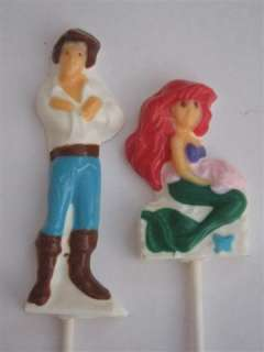 ARIEL ERIC The Little Mermaid Chocolate Candy Soap Mold