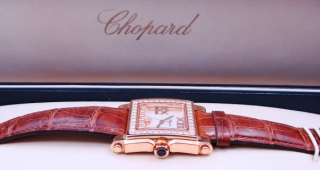Ladies Chopard Happy Sport 7 Diamonds 18K Rose Gold Watch