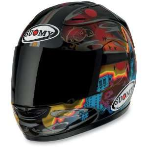 Suomy Spec 1R Dark City Full Face Motorcycle Helmet Multi XXL KTSP0008