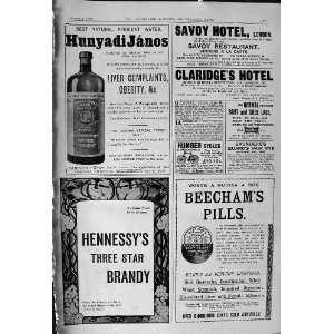 Savoy Hotel Claridges Brandy Beechams Pills