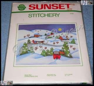 QUILTED CHRISTMAS EVE Crewel Stitchery Kit – L. Gillum