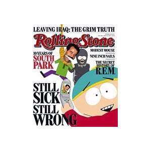 South Park March 22, 2007 Issue Rolling Stone Magazine Books