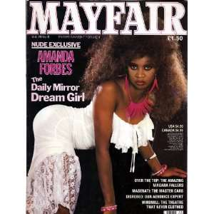 MAYFAIR MAGAZINE VOL. 23 NO. 9: PAUL RAYMOND: Books