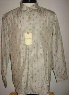 Tommy Bahama Silk L/S Dress Shirt Medium NWT $138 P