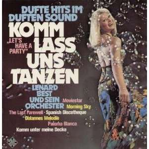 IM DUFTEN SOUND LP (VINYL) GERMAN TELEFUNKEN 1976 LENARD BEST Music