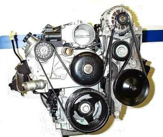 Idler Pulley Relocation Bracket Chevrolet Truck LQ LS1 Intake Manifold