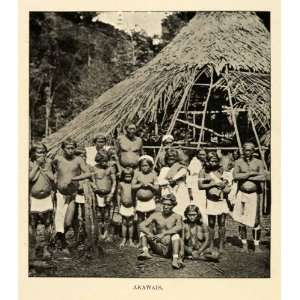 1901 Halftone Print Arawaks Tribal Colony Indigenous