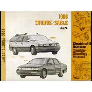 Taurus Mercury Sable Electrical Troubleshooting Manual Ford Books