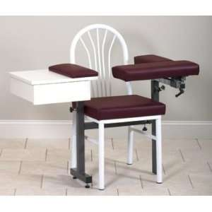 CLINTON MD SERIES BLOOD DRAWING CHAIRS Uph seat,flip arms