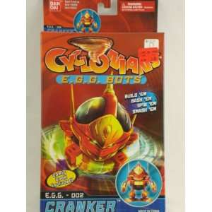 ns E.G.G. Bots #002 Cranker w/ Comic Book Toys & Games