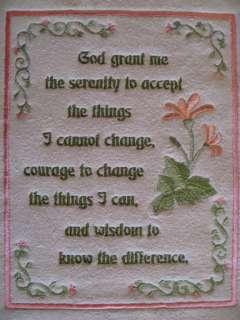 God Grant Me the Serenity   Lovely Prayer