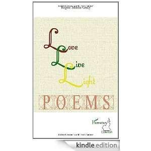 Love Live Light Poemes Gracy Regine Milena  Kindle Store