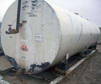 Diesel Gas Fuel Storage Tank Construction Site Ad Pac