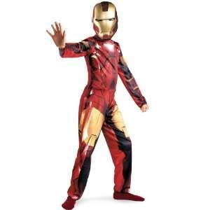 Iron Man Costume Child Large 10 12 Superheroes 2011 Toys