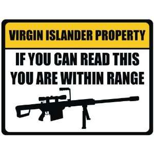 Property  Virgin Islands Parking Sign Country