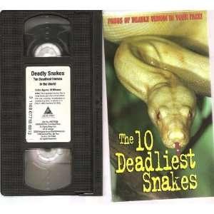 Ten Deadliest Snakes in the Wo [VHS]: Ten Deadliest Snakes