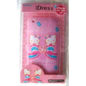 iPhone 3G 3GS Hard Cover Back Case ~Pink Hello Kitty~ #3