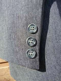 CIRCLE S Western Suit 40R 30x30   with a Fancy Felt Cowboy Yoke