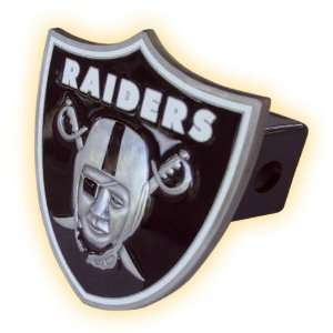 Oakland Raiders Logo Trailer Hitch Cover: Sports & Outdoors