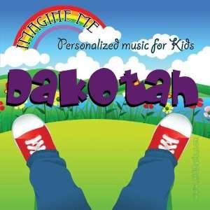 for Dakotah   Pronounced ( Dah Ko Tah ): Personalized Kid Music: Music