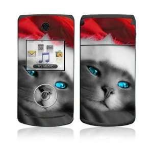 LG Chocolate 3 Skin   Christmas Kitty Cat