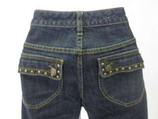 MICHAEL KORS Dark Blue Denim Jeans Pants Slacks Sz 6P