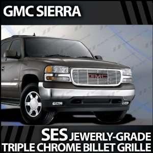 1999 2002 GMC Sierra SES Chrome Billet Grille Automotive
