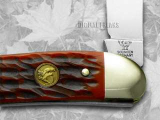 HEN & ROOSTER AND Red Pickbone Whittler Pocket Knives