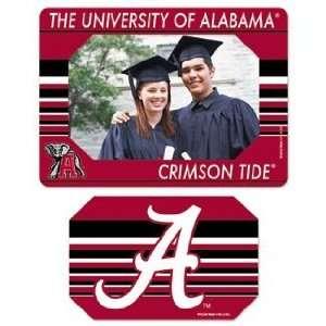 Alabama Crimson Tide Magnet   Die Cut Horizontal Sports