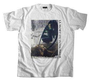 Art T Shirt Death of the Grave Digger