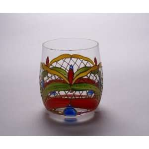Romanian Crystal DOUBLE OLD FASHION WHISKEY Glass