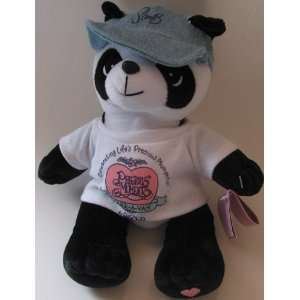Precious Moments Bean Bag Plush Tender Tails Panda Bear