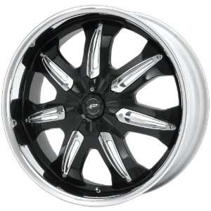 Dale Earnhardt JR Hustler DJ3813 Gloss Black Wheel with Machined Lip
