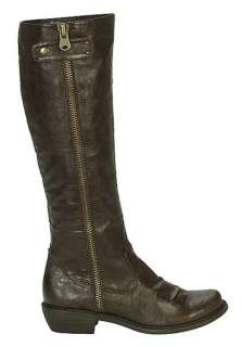 MIA Tall Ruched Riding Style Boots in Black, Brown, Tan & Natural