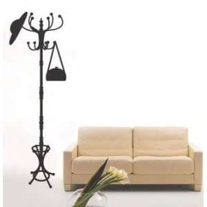 Hanger Stand   Loft 520 Home Decor Vinyl Mural Art Wall