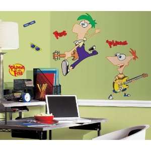 Party By York Wallcoverings Disney Phineas and Ferb Giant Wall Decal