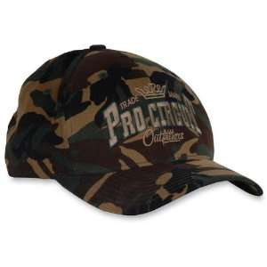 Pro Circuit Outfitters Trucker Hat , Color Green, Size Sm Md PC07405