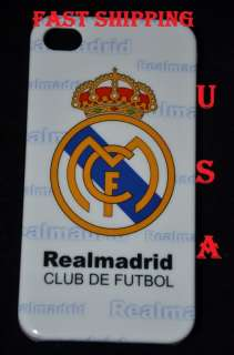 REAL MADRID CLUB HARD CASE IPHONE 4 G +SCREEN PROTECTOR