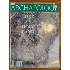 the Holy Land, 100 years of biblical archaeology: archaeology: Books