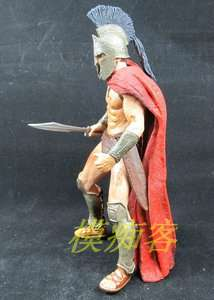 Neca Frank Millers 300 Movie King Leonidas Loose Action Figure