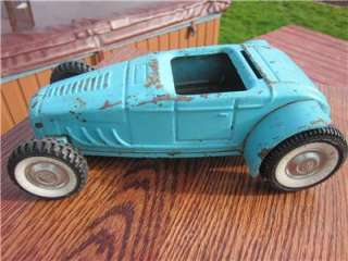 Vintage NYLINT ROADSTER RAT ROD HOT ROD FORD ROADSTER IN Sky Blue