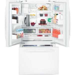 White Profile Energy Star 25.8 cu. ft. French Door Refri Appliances